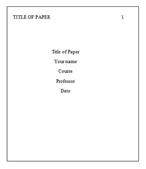 Cover page of a research paper ape